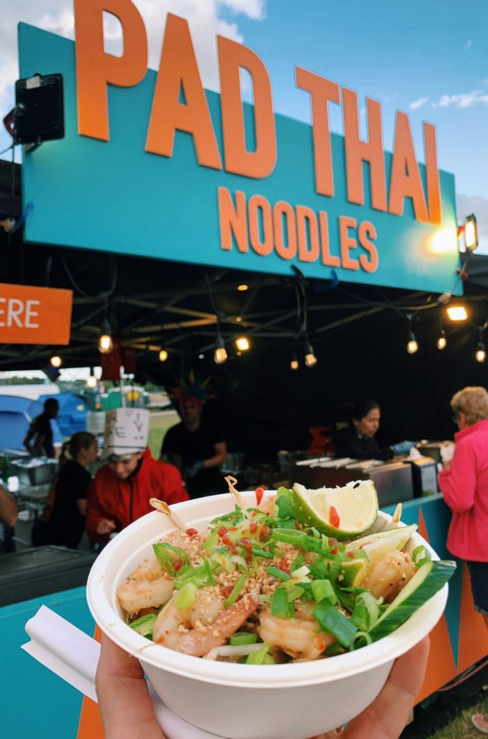 Pad Thai Noodles Stall, Rewind Festival, 2019