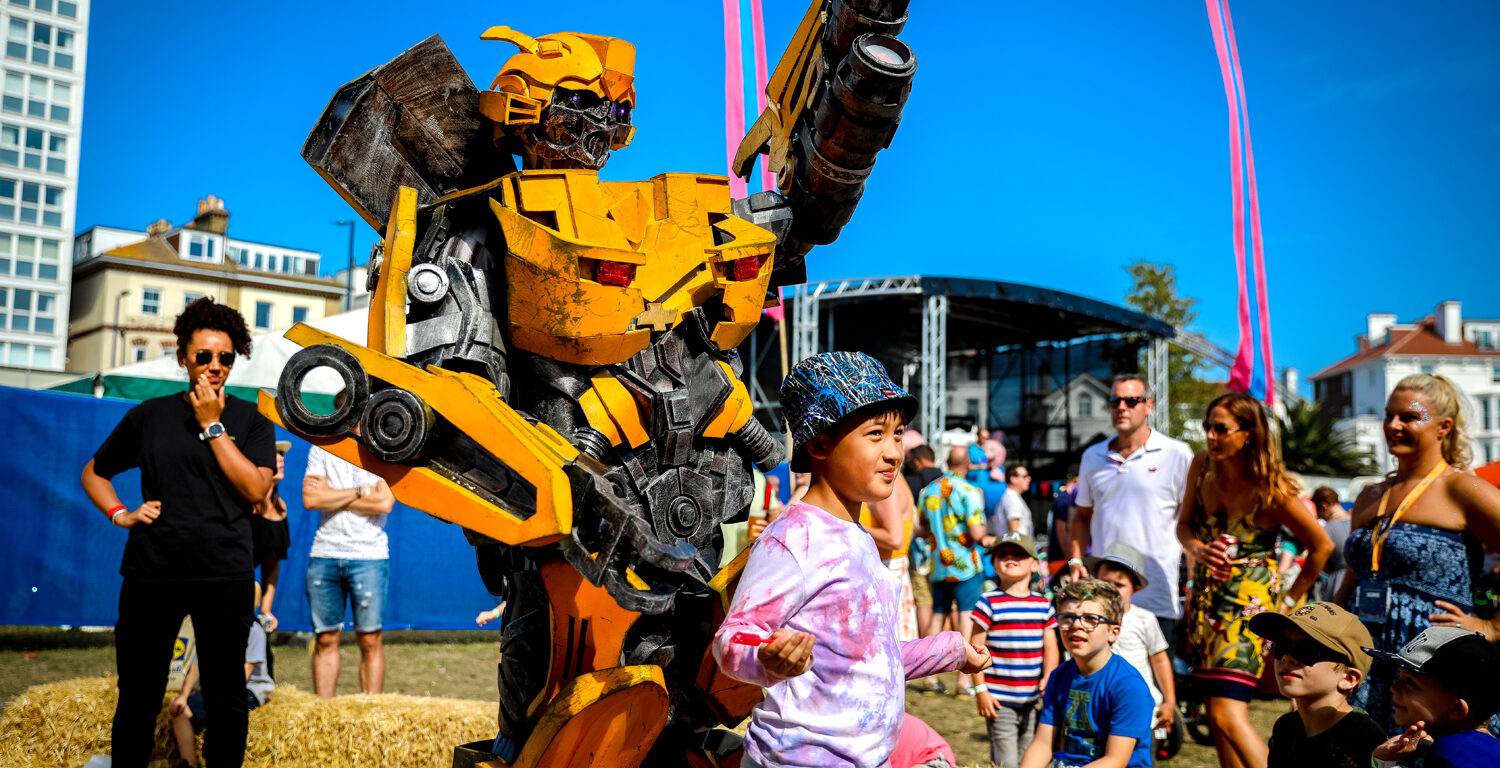 Bumblebee, Victorious Festival Kids Arena, 2019