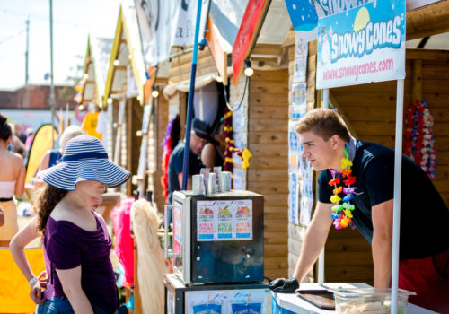 Traders at Victorious Festival 2019 - concessions mamagement