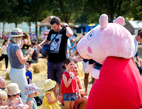 Peppa pig at Victorious Festival Kids Arena, 2019 - by Victorious Events