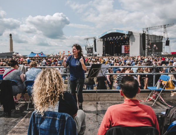 British Sign Language Interpreters, Victorious Festival 2018 - Organised by Victorious Events