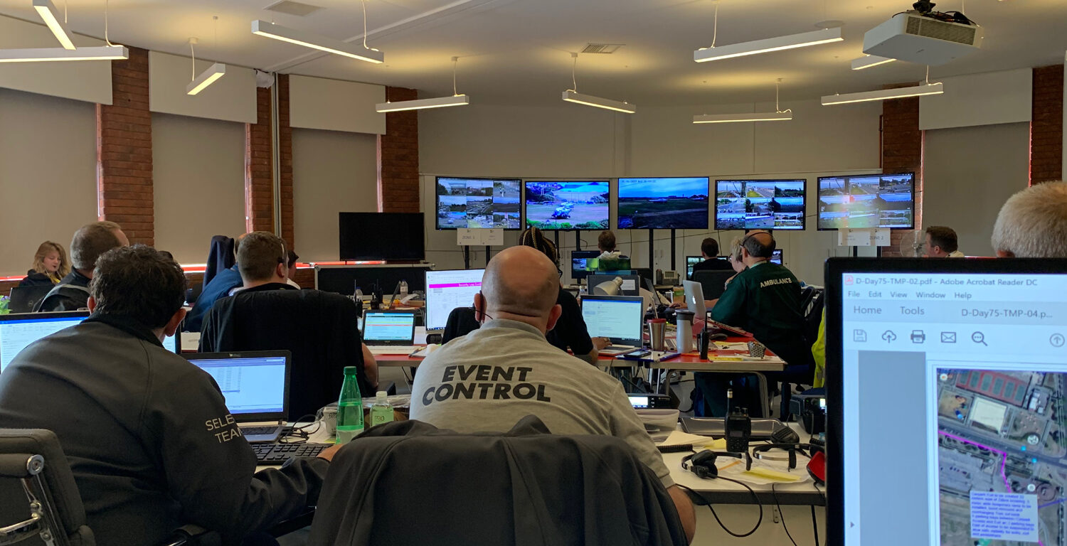 Event Control Room Image, D-Day 75 Commemorative Event, 2019