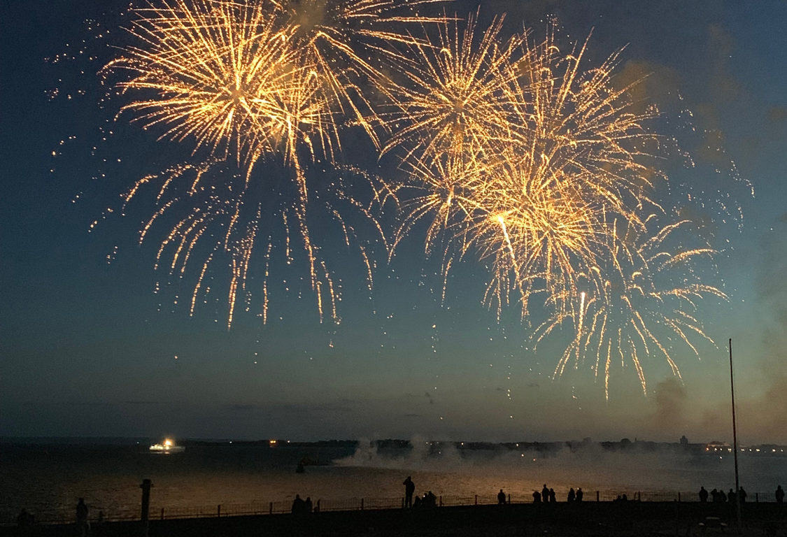 D-Day 75 Commemorative Event Fireworks Display, 2019