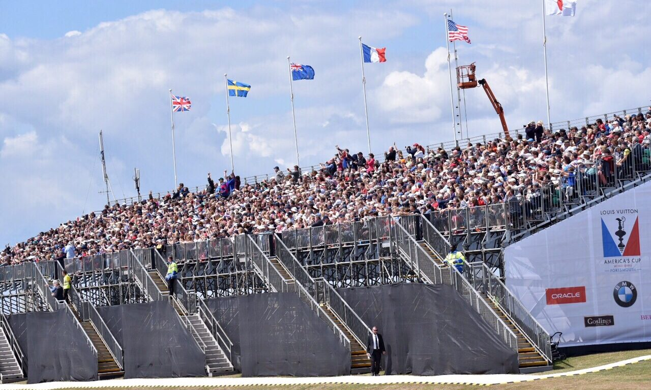 Viewing Platform, Americas Cup World Series Fanzone, 2015