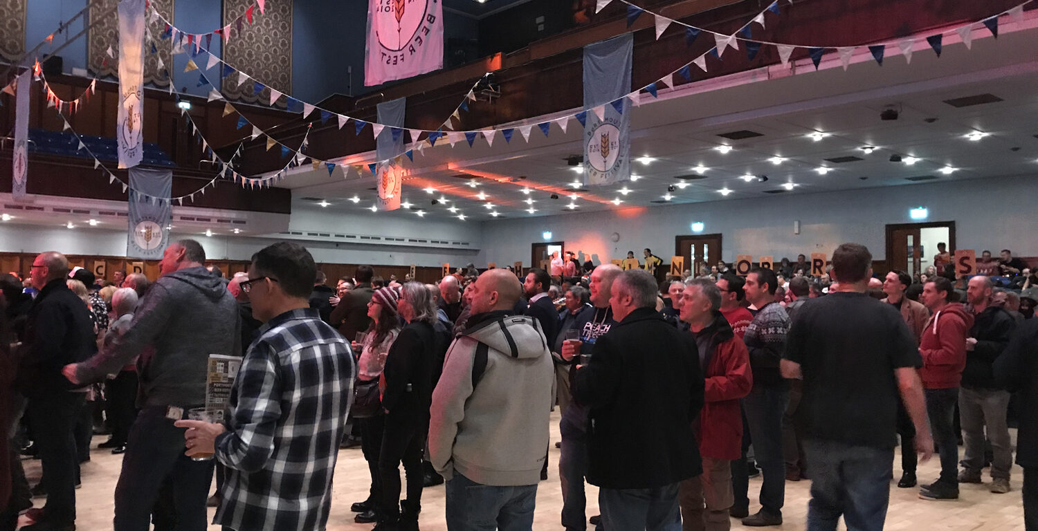 Portsmouth Beer Festival, Portsmouth Guildhall, 2016